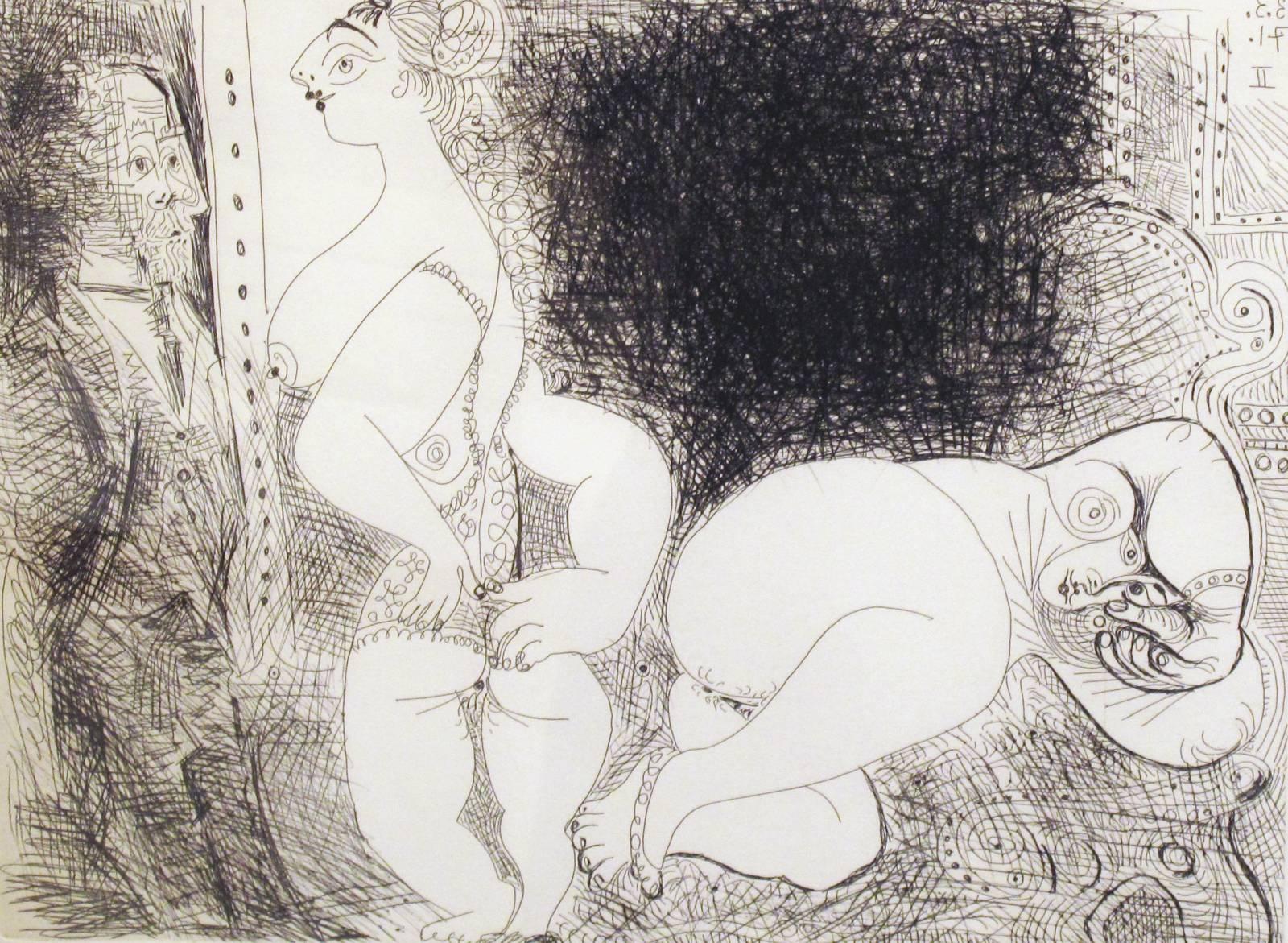 Pablo Picasso, Sans titre, 13. Mars, 1971